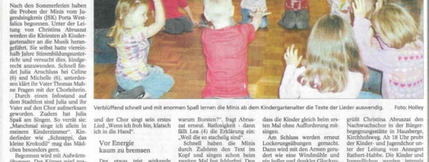 Von Borstenvieh, Spinnen und Hunden, Copyright MINDENER TAGEBLATT / MT ONLINE 27. August 2005