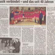 Musik verbindet - und das seit 40 Jahren Copyright MINDENER TAGEBLATT / MT ONLINE 06. August 2008