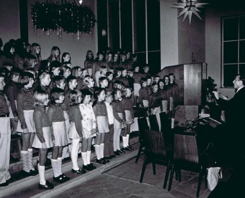 1971 - Konzert in der Kirche Möllbergen
