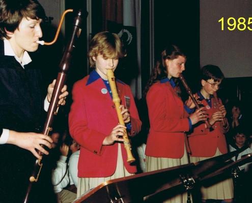 1985 - Chorfahrt Neukirchen Flöten