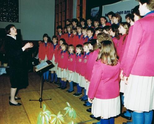 1985 - Chorfahrt Neukirchen Konzert