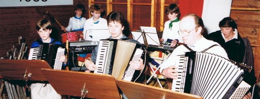 1985 - Chorfahrt Neukirchen Leierkasten