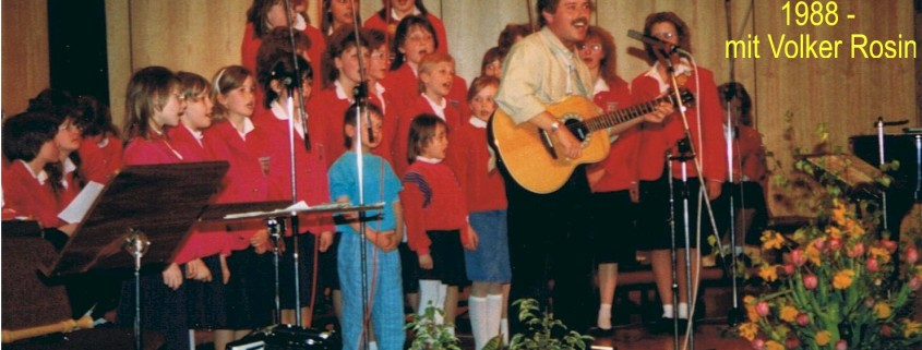 1988 - Jahreskonzert mit Volker Rosin