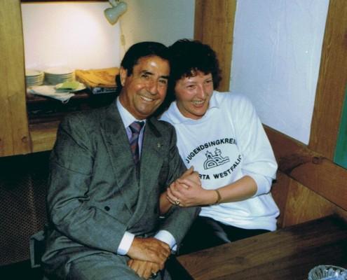1989 - Autogrammstunde mit Vico Torriani