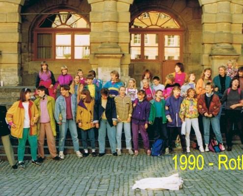 1990 - Chorfahrt nach Rothenburg