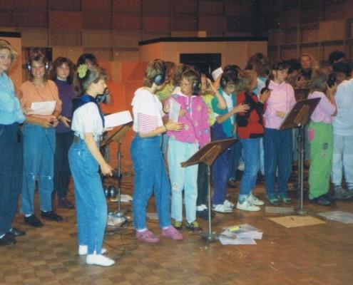 1990 - Studioaufnahmen in Hamburg