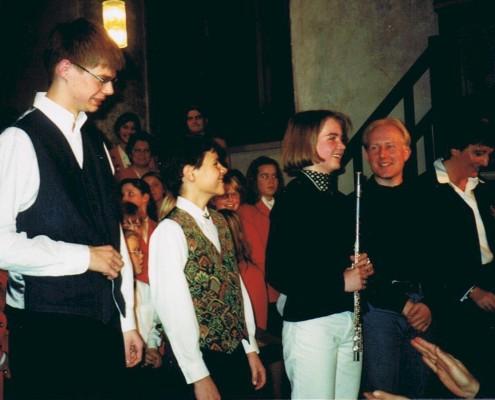 1998 - Weihnachtskonzert Musiker