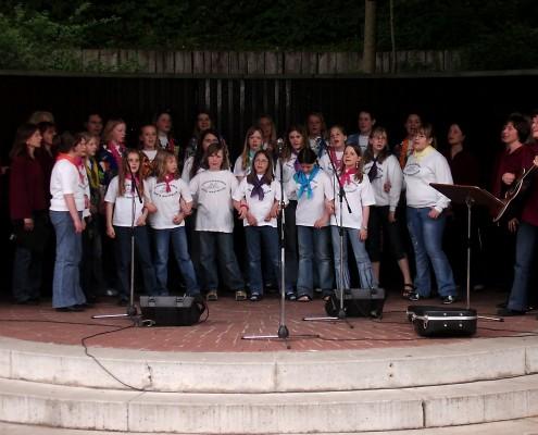 2005 - Konzert im Kurpark