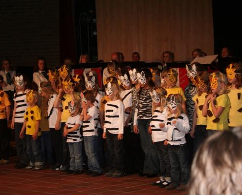 2009 - Giraffen und Zebras